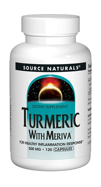 Meriva Turmeric Complex, 500mg, 120 Caps, Source Naturals