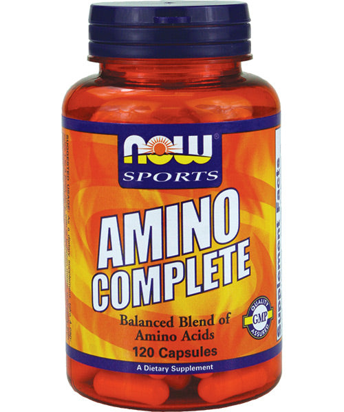 Now Foods, Amino Complete, 120 Caps