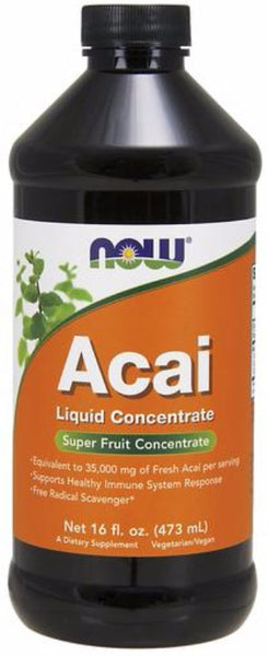 Now Foods, Acai Concentrate, 473 ml