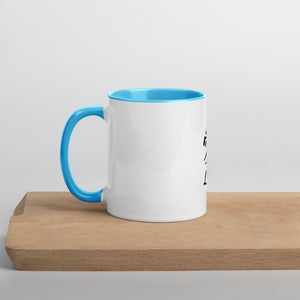 Kanji Mug with Color Inside