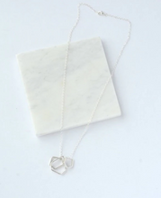 Load image into Gallery viewer, The Love of 3 Sterling Silver Necklace