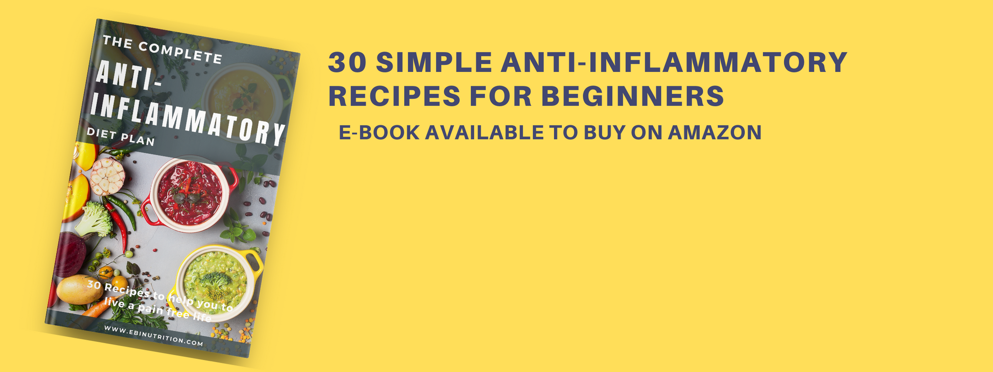 EBI Nutrition anti-inflammatory diet ebook