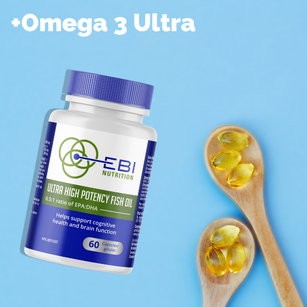 Omega 3 Ultra high potency fish oil