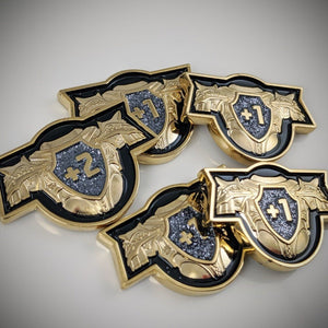 Sanctified Plate - Metal Armor Token Set (5)