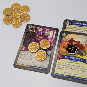 Custom Token - Archonic Energy Tokens - Unofficial Aember/Amber Compatible With KeyForge