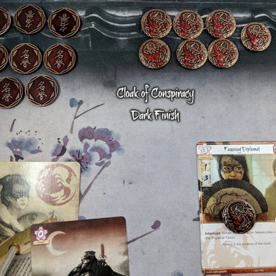 Scorpion Blade, Conspiracy & Victory - Metal Fate Tokens