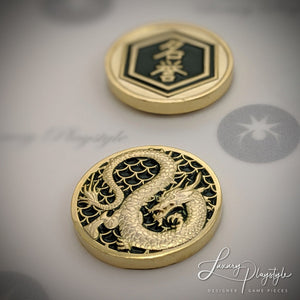 Dragon Classic - Metal Fate/Honor Tokens