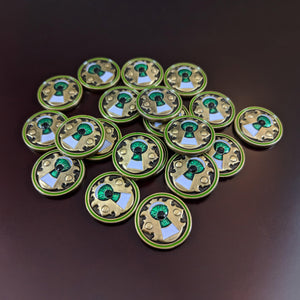 Custom Token - Dreaded Discovery - Unofficial Clue Tokens Compatible With Arkham Horror LCG