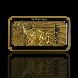 Custom Token - First Player Trophy Token - - Unofficial L5R LCG Luxury Metal Token