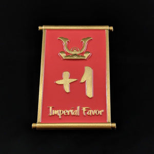 Custom Token - Luxury Imperial Favor Decree Tokens - Unofficial L5R LCG Dual-sided Tokens