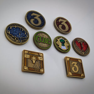 Melting Mind - Metal Sanity Tokens