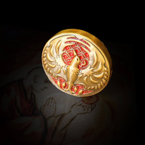 Custom Token - Phoenix & Honor Metal Coin - Unofficial  L5R LCG Luxury Fate Token