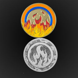Custom Token - Prize Elemental Rings - Luxury Unofficial L5 LCG Game Tokens