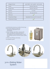 Calida Plus 3-in-1 Boiling Water System