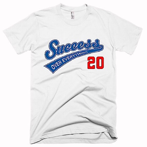 Success Baseball Tee-White
