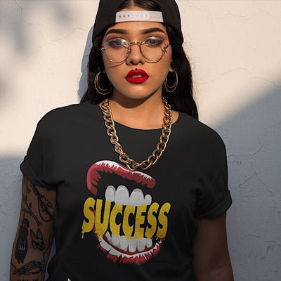 Success Lips Tee - shopsoeclothing