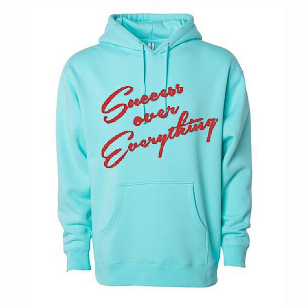 Success Slanted Hoodie - shopsoeclothing