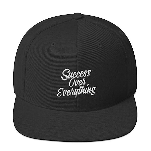 Success SnapBack-Black - shopsoeclothing