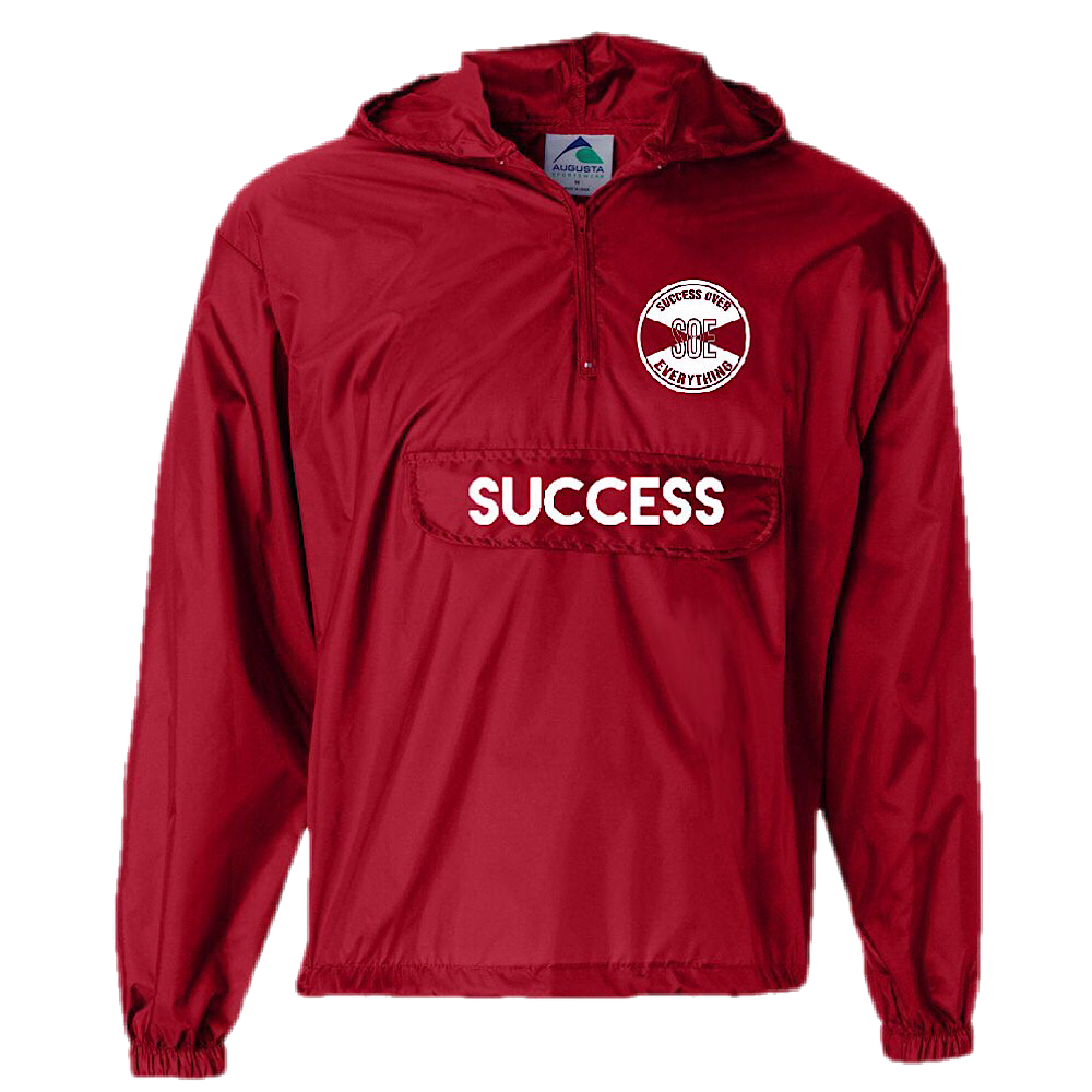 Success Official logo Windbreaker - Red