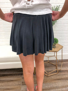 Black Legs For Days Shorts