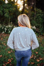 Heather Grey Star Pullover
