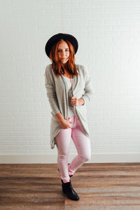 Pale Pink Denim