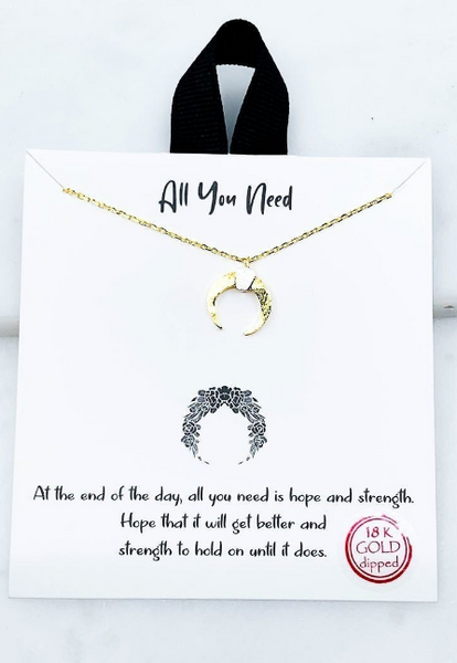 All You Need Necklace Gift Set