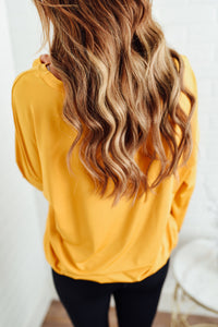 Mustard Long Sleeve Top