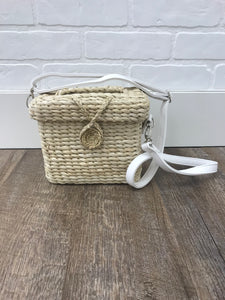 Natural Straw Woven Crossbody