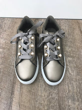 Pewter Lace Up Sneaker