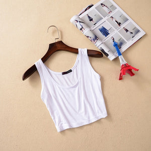 Women's Solid Color Tank Top