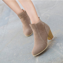 Load image into Gallery viewer, Women's High Heel Winter Boots