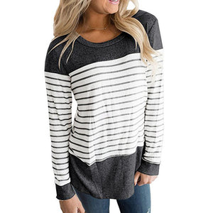 Long Sleeve Round Neck T-Shirts