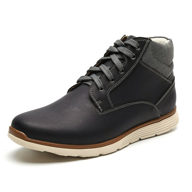Men's Lace Up Leather Boots