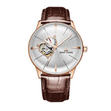 Load image into Gallery viewer, Men's Reef Tiger Rose Gold Blue Dial Automatic Watch