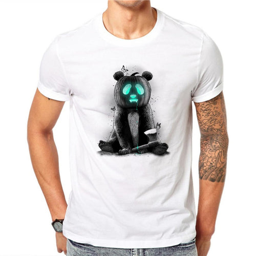 Pumpkin Bear Men's T-Shirt