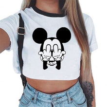 Load image into Gallery viewer, Harajuku Crop Top