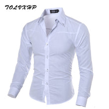 Load image into Gallery viewer, John's Bakery Men's Long Sleeve Dress Shirt