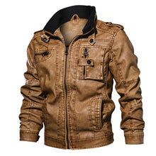 Load image into Gallery viewer, Men's Leather Jacket