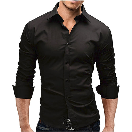 Men's Long-Sleeves Dress Shirt