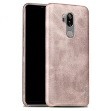 Load image into Gallery viewer, LG G7 ThinQ Leather Back Protective Case