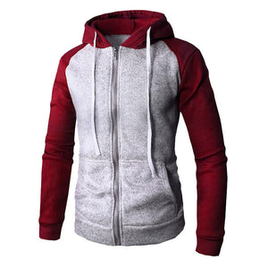 Men's Long Sleeve Pocket Hoodie