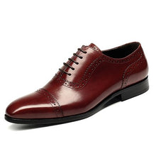 Load image into Gallery viewer, Oxfords Vintage Stylish Pointed Toe Lace Up Brogue Shoes