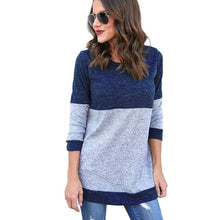 Load image into Gallery viewer, Women's Long Sleeve Loose Sweater