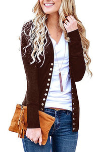 Cardigan Knit Sweater