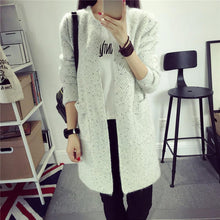 Load image into Gallery viewer, Women's Knitted Cardigan Coat