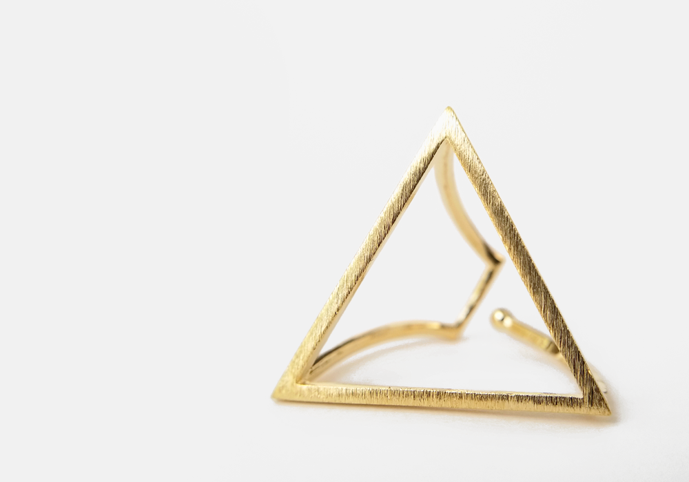 Triangle Minimalist Ring