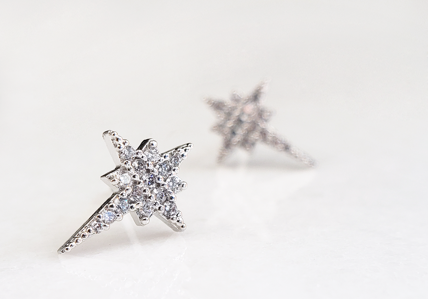 Polaris North Star Earrings