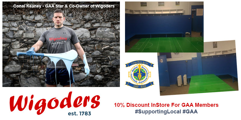 Wigoders Supporting Local GAA