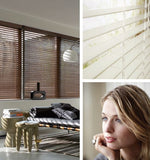 FauxWood Blinds  at SquareBlinds - Wigoders Building on Longmile Road, Dublin